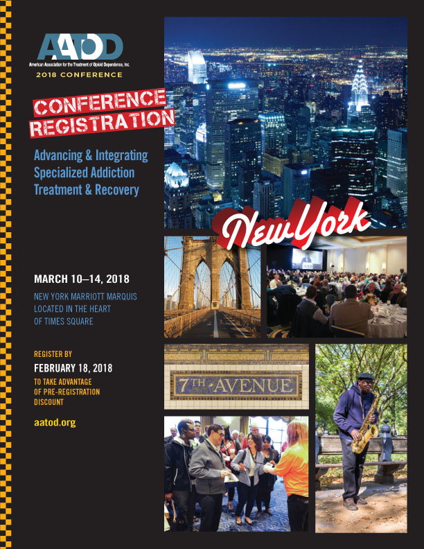 2018 Conference Registration Brochure is Now Available